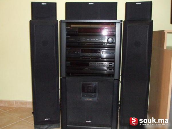 chaine hi fi sony session casablanca souk ma. Black Bedroom Furniture Sets. Home Design Ideas