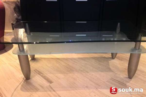 Table Basse Verre Casablanca Souk Ma سوق المغرب