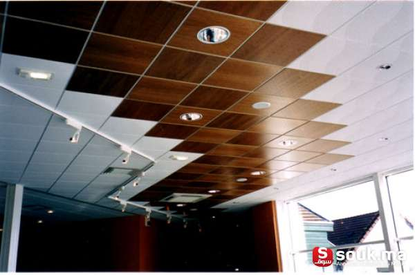 faux plafonds suspendus soualem souk ma. Black Bedroom Furniture Sets. Home Design Ideas