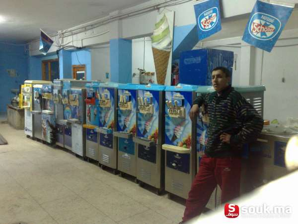 Machines ziri glaces oujda souk ma - Machine a glace italienne maison ...