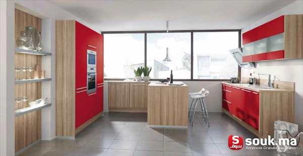Quelle Cuisine Avec Sol Noir : Cuisine Moderne Design Maroc 1 Cuisine Moderne Design Maroc Cuisine