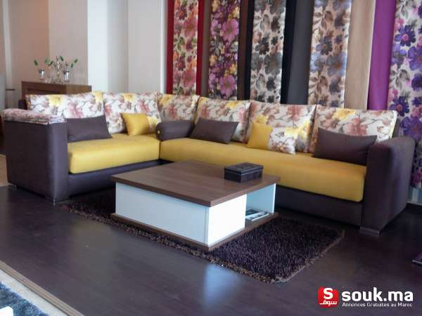 Salon Modern L Table Basse Tapie Casablanca Souk Ma سوق المغرب