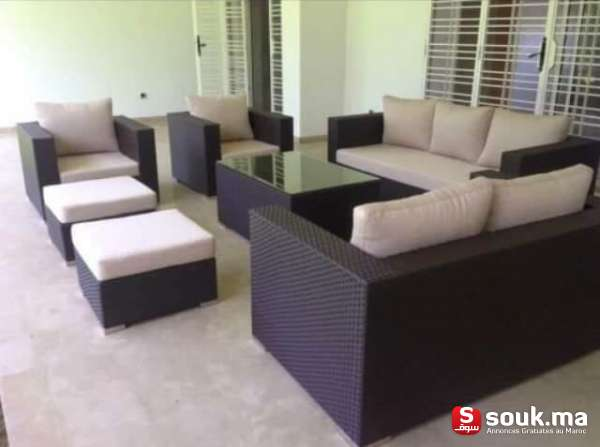 Salons pour terrasse et jardins casablanca souk ma - Mobilier pour terrasse ...