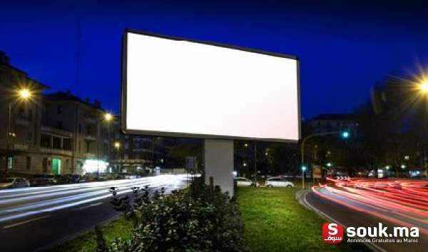 Auto D Occasion >> Location Panneaux Publicitaires 4X3 Et Sucettes Maroc ...