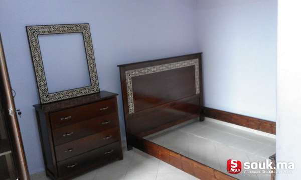 Chambre A Coucher En Bois Couleur A Votre Choix | Marrakech ...