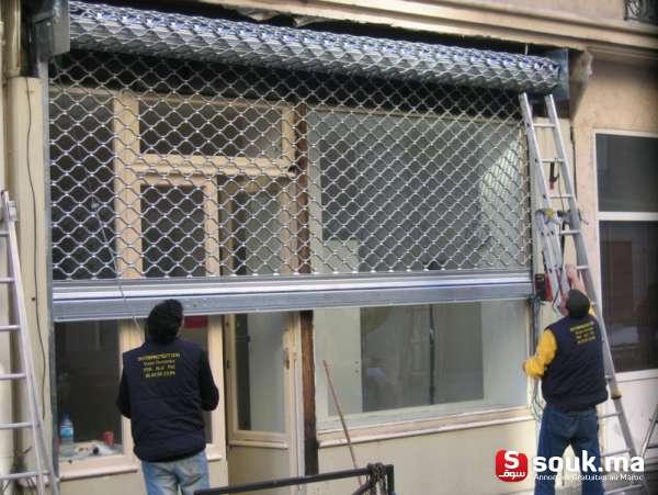 vente et installation rideau metallique electrique marrakech marrakech souk ma. Black Bedroom Furniture Sets. Home Design Ideas