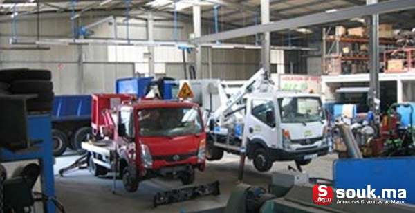 Service poid lourd kenitra souk ma for Garage poids lourds angers