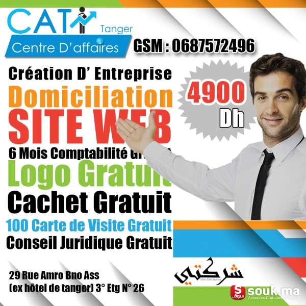 Creation D EntrepriseDomiciliationsite Web6 Mois Comptabilite GratuitLogo GratuitCachet Gratuit100 Carte De Visite GratuitConseil Juridique Gratuit