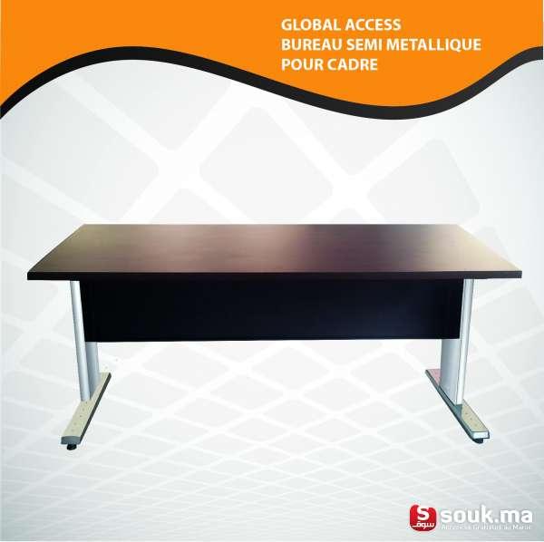 bureau semi metallique pour cadre sal souk ma. Black Bedroom Furniture Sets. Home Design Ideas