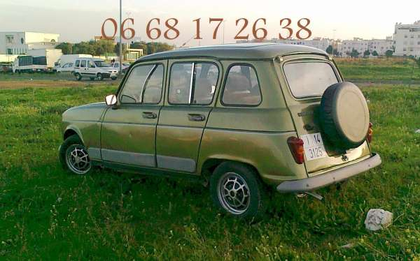 voiture r4 en bonne État   casablanca   souk.ma - سوق المغرب