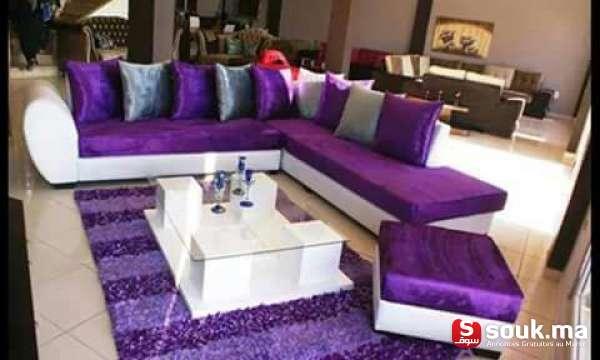 Salon Moderne Avec Table | Casablanca | SOUK.MA - سوق المغرب