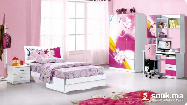 chambre a coucher enfant casablanca souk ma. Black Bedroom Furniture Sets. Home Design Ideas