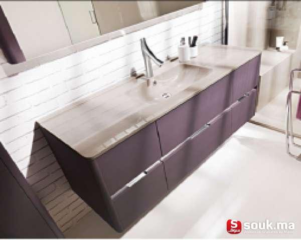 vente meubles de rangement pour salle de bain casablanca souk ma. Black Bedroom Furniture Sets. Home Design Ideas