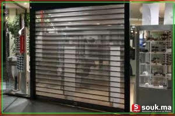 Instalation ou r paration de rideau electrique a marrakech for Porte de garage rideau occasion