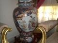 vase de porcelaine d'antiquite