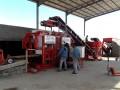 usine semiautomatique de fabrication d'agglos, parpaing