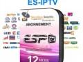 ABONNEMENT IPTV 12 MOIS POUR RÉCEPTEUR IPTV ET SMART IPTV