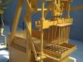 Machine parpaing pour fabrication des blocs béton