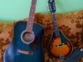 Guitares Countryman et Hondo II
