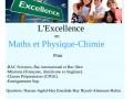 Soutien de l'Excellence-Maths-Physique-BAC-CPGE-UIR-UIC-Sup-Rabat