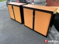 Armoire basse monobloc Steelcase 120x100 cm
