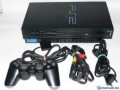 playstation2+2manettes+carte memoire8mb+4cd